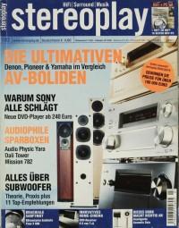 Stereoplay 7/2002 Zeitschrift