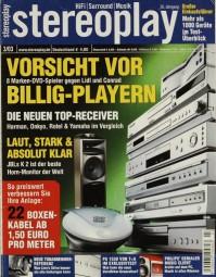 Stereoplay 3/2003 Zeitschrift