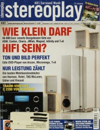 Stereoplay 4/2003 Zeitschrift