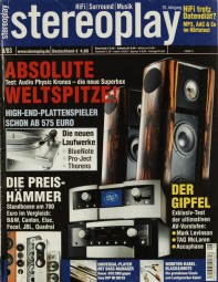 Stereoplay 8/2003 Zeitschrift