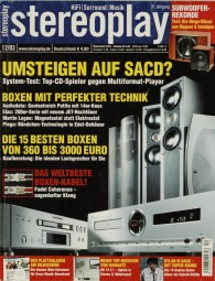Stereoplay 12/2003 Zeitschrift