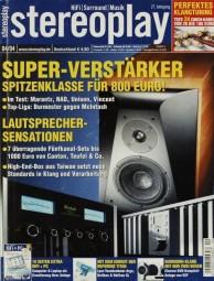 Stereoplay 4/2004 Zeitschrift