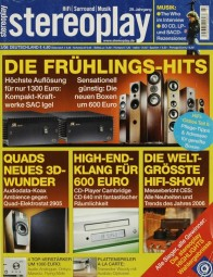 Stereoplay 3/2006 Zeitschrift