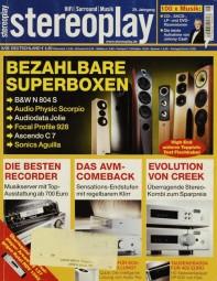 Stereoplay 8/2006 Zeitschrift