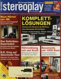 Stereoplay 9/2006 Zeitschrift