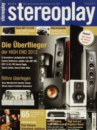 Stereoplay 8/2012 Zeitschrift