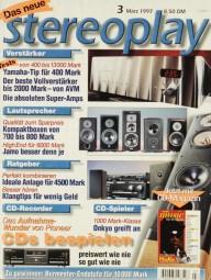 Stereoplay 3/1997 Zeitschrift