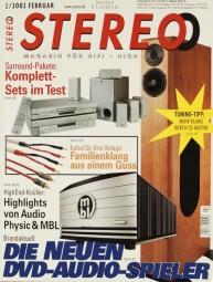 Stereo 2/2002 Zeitschrift