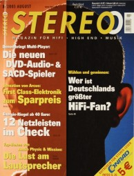 Stereo 8/2003 Zeitschrift