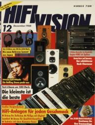 Hifi Vision 12/1988 Zeitschrift