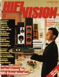 Hifi Vision 8/1989 Zeitschrift