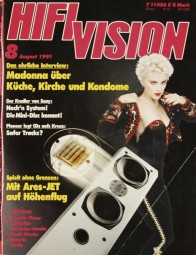 Hifi Vision 8/1991 Zeitschrift