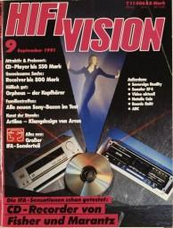 Hifi Vision 9/1991 Zeitschrift