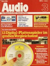 Audio 3/1983 Zeitschrift