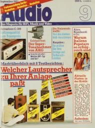 Audio 9/1983 Zeitschrift