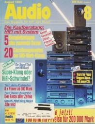 Audio 8/1993 Zeitschrift