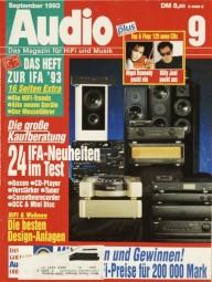 Audio 9/1993 Zeitschrift