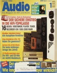 Audio 1/1994 Zeitschrift