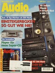 Audio 11/1995 Zeitschrift
