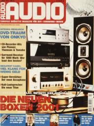 Audio 3/2001 Zeitschrift