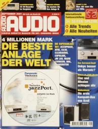 Audio 9/2001 Zeitschrift