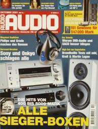 Audio 10/2001 Zeitschrift