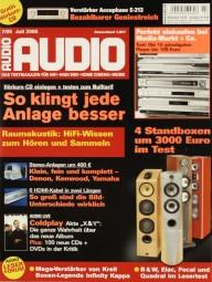 Audio 7/2005 Zeitschrift