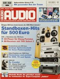 Audio 8/2005 Zeitschrift