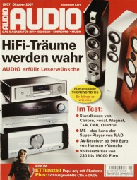 Audio 10/2007 Zeitschrift