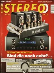 Stereo 8/2010 Zeitschrift