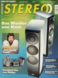 Stereo 9/2010 Zeitschrift