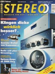 Stereo 2/2011 Zeitschrift