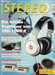 Stereo 8/2011 Zeitschrift