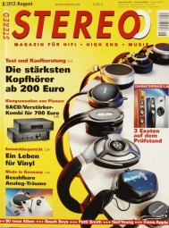 Stereo 8/2012 Zeitschrift