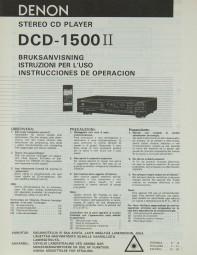Denon DCD-155 II Bedienungsanleitung