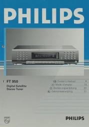 Philips FT 950 Bedienungsanleitung