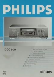 Philips DCC 900 Bedienungsanleitung