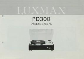 Luxman PD 300 Bedienungsanleitung