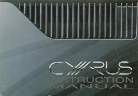 Mission / Cyrus Discmaster Bedienungsanleitung