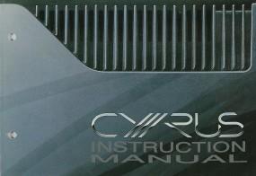 Mission / Cyrus System Commander Bedienungsanleitung