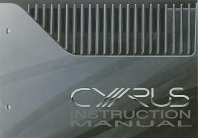 Mission / Cyrus Cyrus Pre Bedienungsanleitung