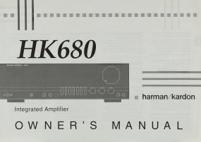 Harman / Kardon HK 680 Bedienungsanleitung