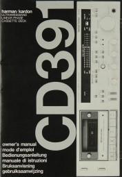 Harman / Kardon CD 391 Bedienungsanleitung