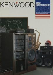 Kenwood Lieferübersicht 1993/1994 USA Prospekt / Katalog