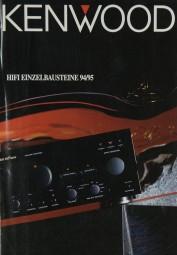 Kenwood Lieferübersicht 1994/1995 Prospekt / Katalog