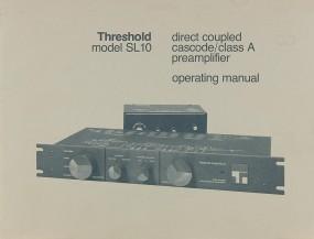 Threshold SL 10 Bedienungsanleitung