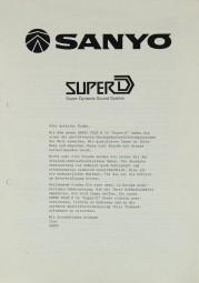 Sanyo Plus N 55 Bedienungsanleitung