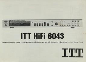 ITT 8043 Bedienungsanleitung