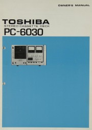 Toshiba PC-6030 Bedienungsanleitung