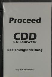 Proceed CDD Bedienungsanleitung